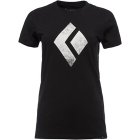 Black Diamond Chalked Up T-paita Naiset, black